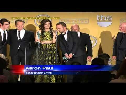 Breaking Bad rakes in big honors at SAG Awards