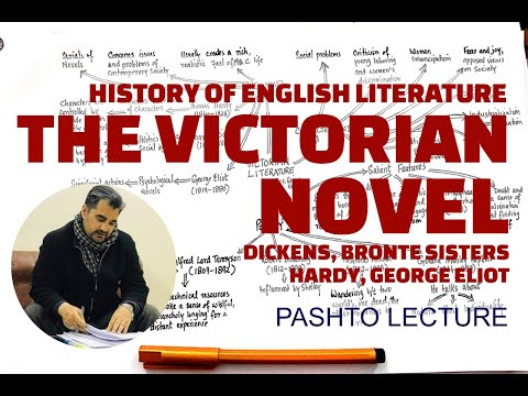 LECTURE 56- Characteristics of Victorian Novel Explained in Pashto