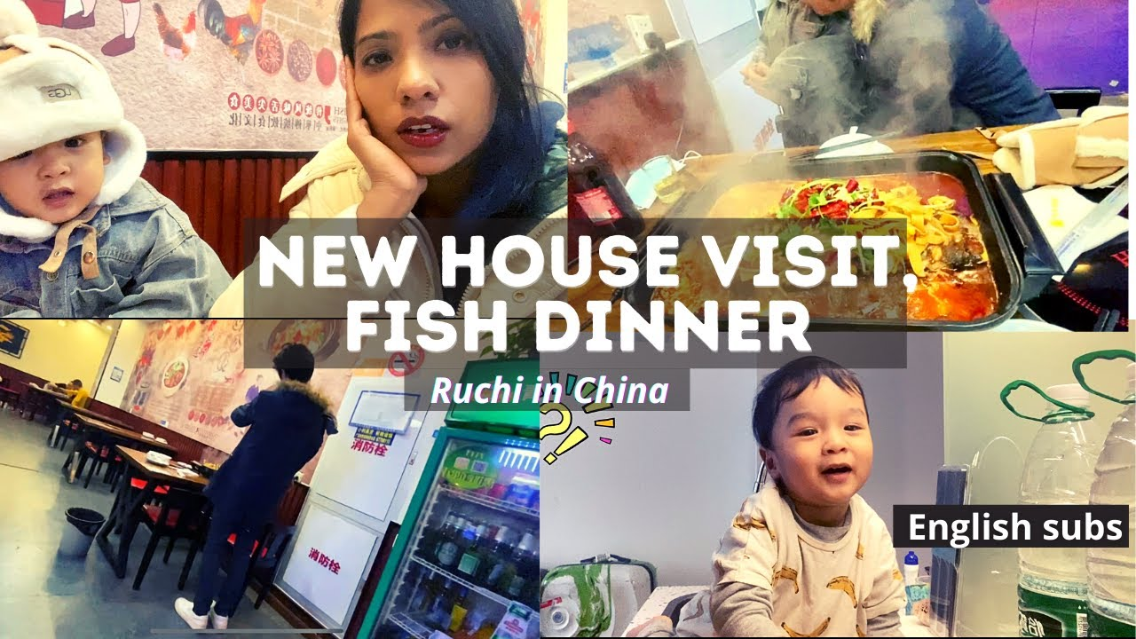 Hotel room routine I We visited our new house I Dinner with family outside I Indo-Chinese couple