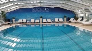 Mattina in Atlantjde, la piscina coperta con acqua marina Atlantic