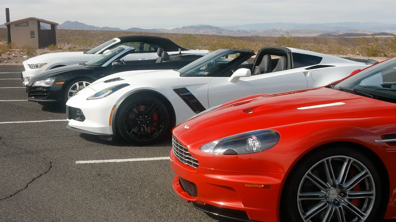 Driving Supercars In Las Vegas
