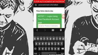 Tutorial Auto komentar facebook