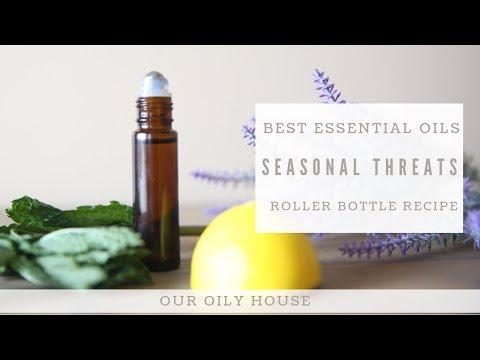 Essential Oil Roller Bottle for Seasonal Threats