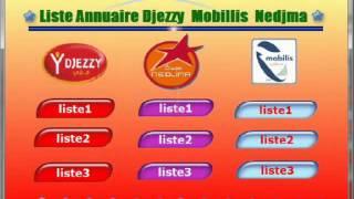 annuaire djezzy 2013 gratuit