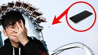 MIJN TELEFOON VIEL UIT DE ACHTBAAN...