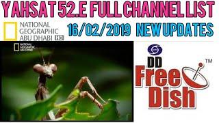 Download Video YAHSAT 52.E NEW UPDATES CHANNEL LIST 16/02/2019 MP3 3GP MP4