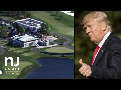 A glimpse at Trump's summer 'White House' at Bedminster