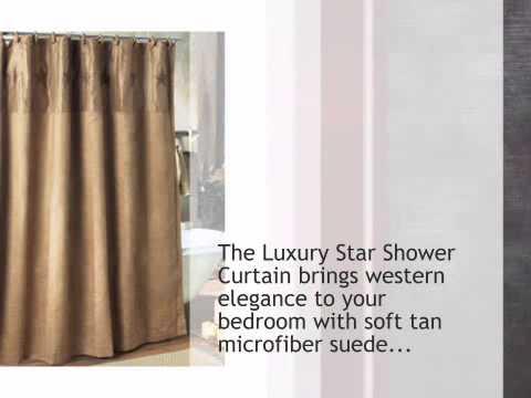 Luxury Star Shower Curtain - lonestarwesterndecor.com