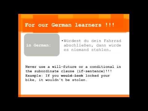 perfect english grammar conditionals
