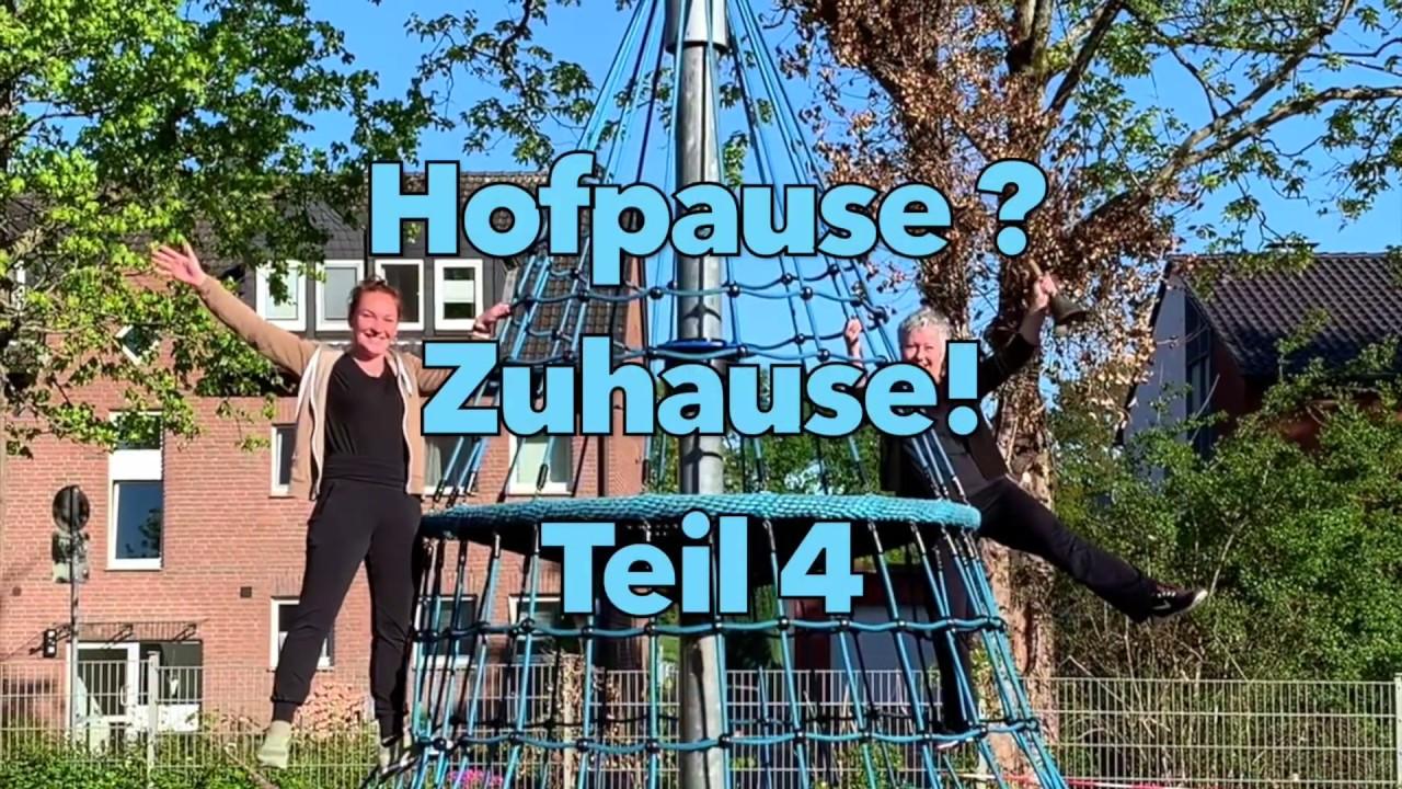 Hofpause Zuhause Teil 4 - Bewegungstipps für die Grundschule