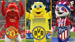Best 25 Famous Football Club Mascots ⚽ Football Mascot ⚽ Footchampion