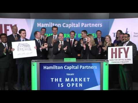 Hamilton Capital Partners opens Toronto Stock Exchange, February 8, 2017