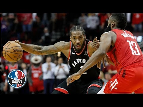 James Harden drops 35, Kawhi Leonard misses game-winner as R