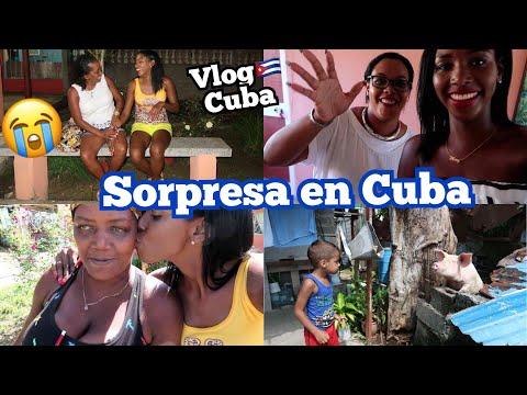 LA MEJOR SORPRESA DEL MUNDO EN CUBA + RECUERDOS DE NIÑA EN CUBA   19 Oct 2017
