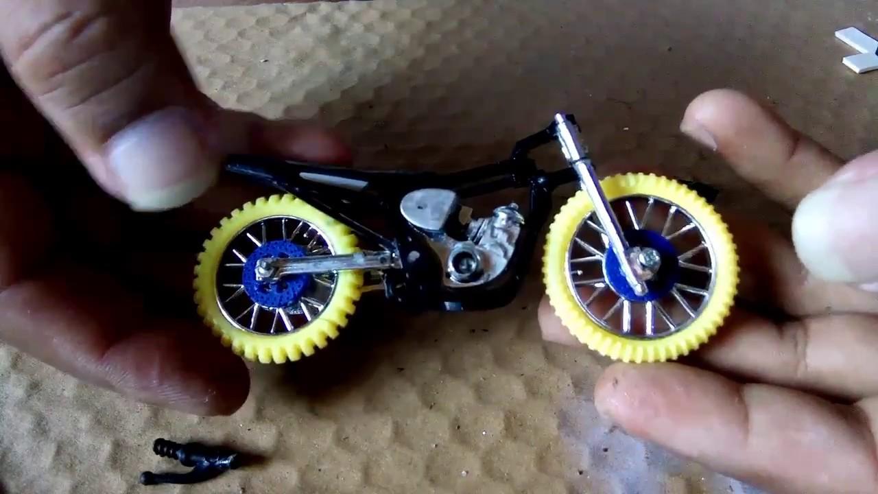 Merubah Motor Tril Menjadi Motor Drag Miniatur Drag Part 2 Youtube
