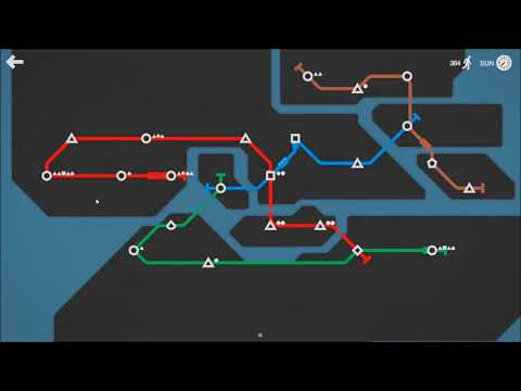 Mini Metro : Stockholm Map