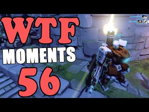 Overwatch WTF Moments Ep.56 thumbnail