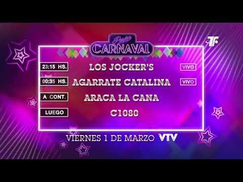 Agenda Carnaval – Viernes 1 de Marzo