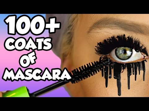 Thumbnail: HOW MANY COATS ARE IN ONE MASCARA TUBE?! LETS FIND OUT! EP1 *NEW SERIES* 100+ coats!