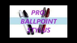 Pro Ballpoint Stylus from Stylusshop.com