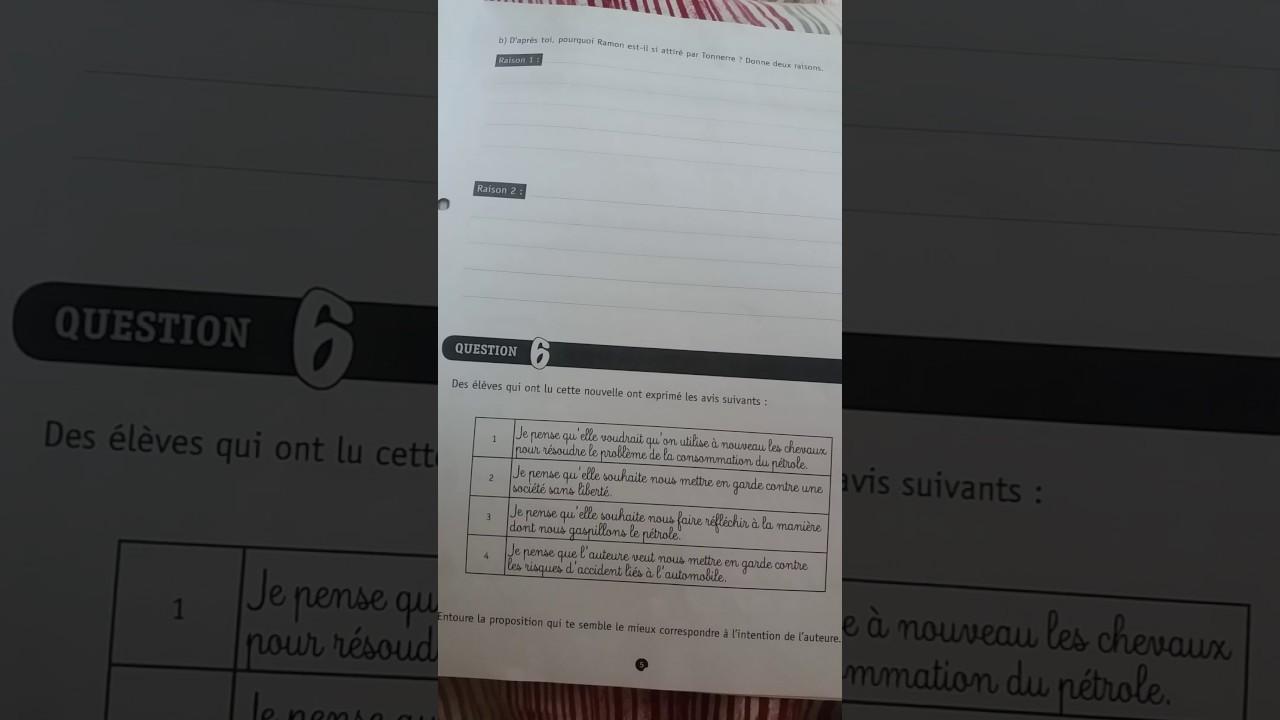 Les Reponses Ce1d 2019 Langue Math Et Francais