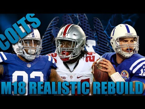 Insane Defense Draft! Realistic Rebuild of the Indianapolis Colts | Madden 18 Franchise