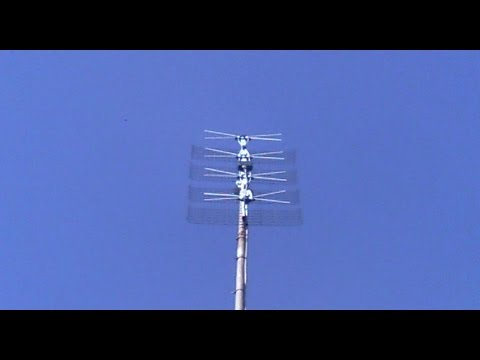 Outside TV Antenna Basic Installation