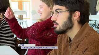 UVSQ : rentrée pour les étudiants étrangers