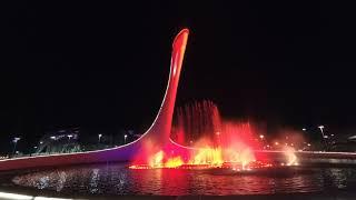 Сочи. Светомузыкальный фонтан. Олимпийский парк.