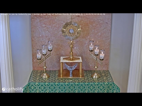 Adorecast – Live Perpetual Adoration (New Link Below)