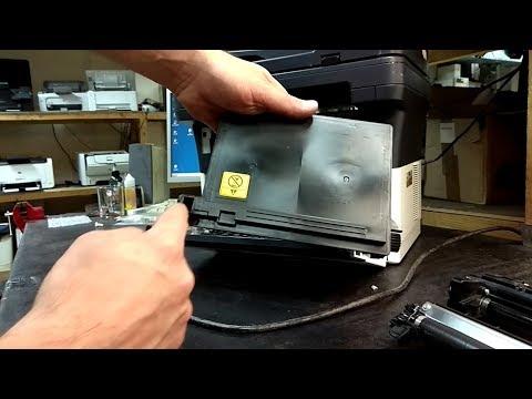 Kyocera FS-1040 FS-1120 | Чистка отработки