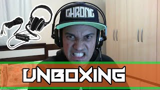 unboxing turtle beach px21 mic teste
