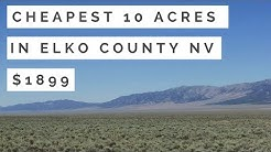Cheapest 10 acres in Nevada $1,899