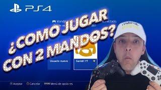 Como Conectar Dos Mandos PS4