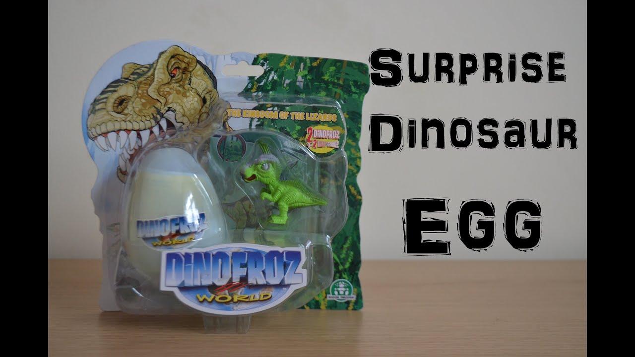 Dinosaur Dinofroz Surprise Egg Land Of The lizards Jurassic Park ...