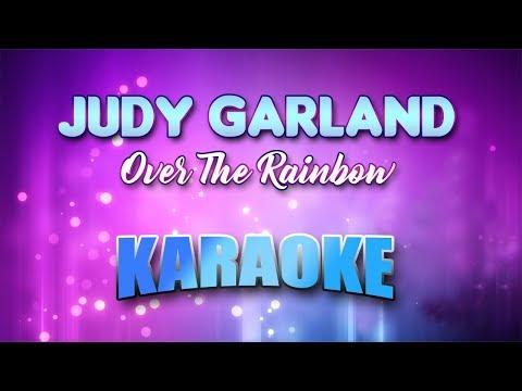 Over The Rainbow - Judy Garland (Karaoke version with Lyrics)