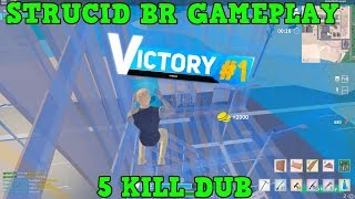 PLAYING MY 2ND SOLO EVER IN STRUCID BATTLE ROYALE! (ROBLOX) *5 KILL DUB!*