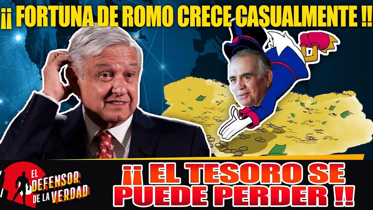Alfonso Romo Traiciona a AMLO yLe Esconde El Presupuesto De 100 Años!!Lo Está Vaciando a Sus Cuentas