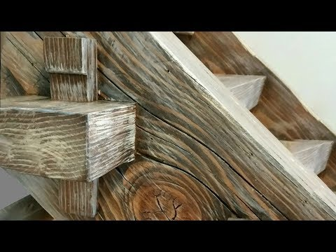 Building a Timber Frame Staircase - Timber framing - Woodworking