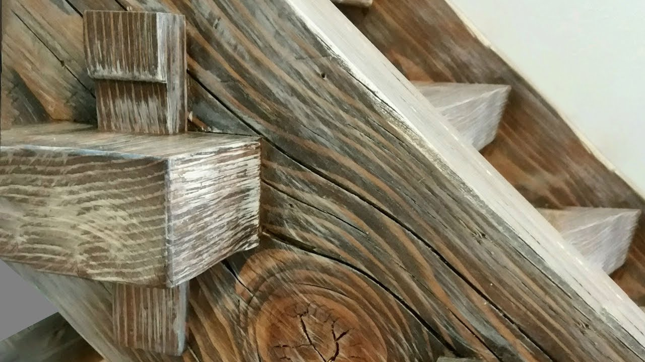 Building A Timber Frame Staircase   Timber Framing   Woodworking