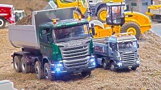 Really small RC Truck 1:25 Scale! Kleine Laster! Scania! MAN! Rc Action Friedrichshafen_2016!