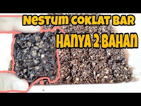 resepi-nestum-coklat-bar-hanya-2-bahan-mudah-dan-sedap-|-easy-chocolate-cereal-bar