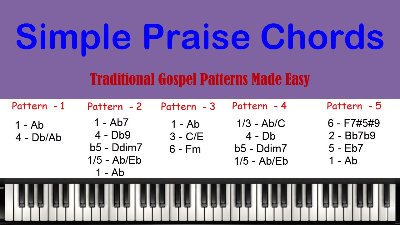 Simple praise chords youtube hexwebz Gallery