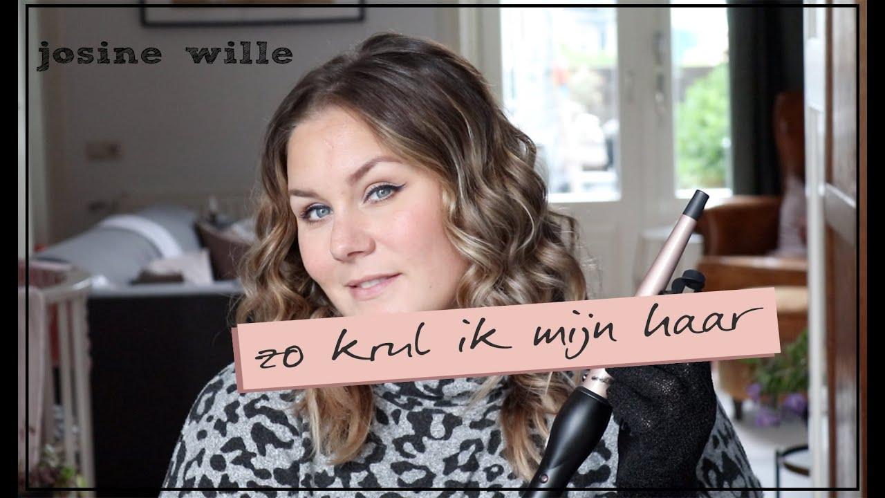 Nieuw ZO KRUL IK MIJN HAAR   REVIEW CARMEN SPIRAL CURL   Josine Wille SO-74