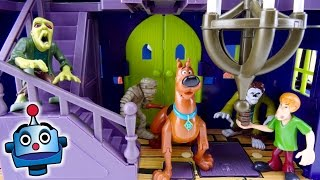 Scooby Doo Mansión Misteriosa Mystery Mansion Playset - Juguetes de Scooby Doo