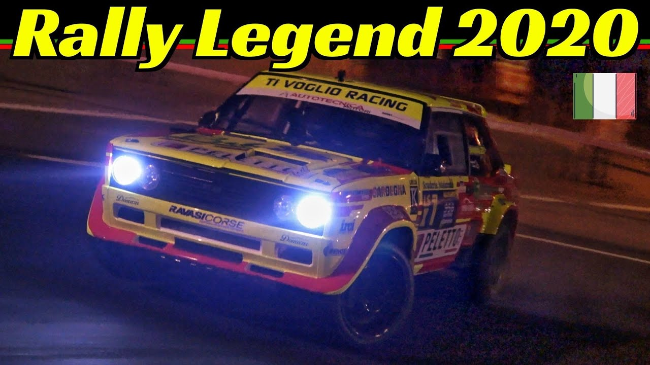 "Rally Legend 2020 San Marino - Day 1 - Thursday/Giovedì - ""The Legend Show"" - Diana, Block, Kelly,"