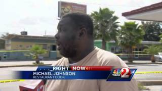 Police: Man shoots restaurant owner over food price dispute(A restaurant employee was shot by a customer through the takeout window, according to the Orange County Sheriff's Office. Subscribe to WESH on YouTube ..., 2014-10-30T22:09:30.000Z)