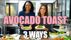 Tasty Avocado Toast 3 WAYS!  | Jessica Alba