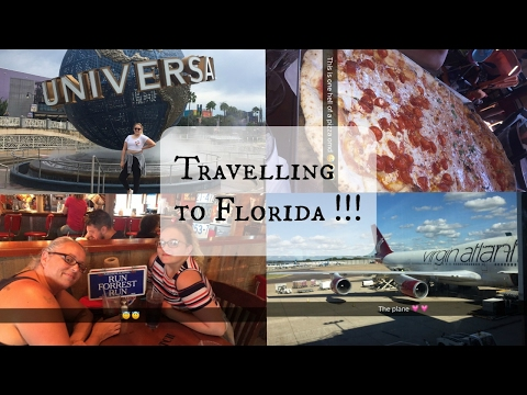 Florida Holiday 2016 : Travel Day