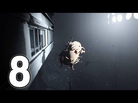 Human Blob Destroying Everything & Realtime Clock - Inside - Part 8
